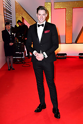 Alex George attending the National Television Awards 2019 held at the O2 Arena, London. PRESS ASSOCIATION PHOTO. Picture date: Tuesday January 22, 2019. See PA story SHOWBIZ NTAs. Photo credit should read: Ian West/PA Wire