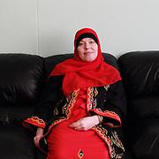 Arhus, Denmark, April 15, 2010. Iman, dasnih, converted to Islam in 1999.