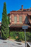 old town street  landmark of Tbilisi Georgia capital city eastern Europe