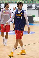 Edgar Vicedo training session of Spain national team before european qualifiers to World Cup 2019 at Coliseum Burgos in Madrid, Spain. November 26, 2017. (ALTERPHOTOS/Borja B.Hojas)