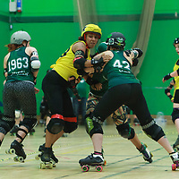 2017-08-05 Manchester Roller Derby Checkerbroads vs Liverpool Roller Birds Sisters of Mersey