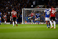 *** during the EFL Sky Bet Championship match between Ipswich Town and Brentford at Portman Road, Ipswich, England on 18 September 2018.