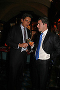 Rupert Edis and Crispin Jameson, Plum Sykes, book launch party, Annabel's, Berkeley Square, London, W1,10 May 2006.  Matthew Williamson, Catherine Vautrin, Laudomia Pucci host party to celebrate 'The Debutante Divorcee'. ONE TIME USE ONLY - DO NOT ARCHIVE  © Copyright Photograph by Dafydd Jones 66 Stockwell Park Rd. London SW9 0DA Tel 020 7733 0108 www.dafjones.com