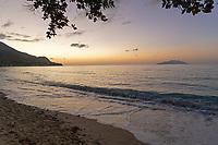 Beach Sunset at Seychelles