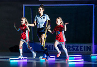 HAMBURG  (Ger) - Match 20,  for FINAL, LMHC Laren - Dinamo Elektrostal (Rus) (3-1).  Photo: European Champion , LMHC Laren.  Klaartje de Bruijn (Laren)    Eurohockey Indoor Club Cup 2019 Women . WORLDSPORTPICS COPYRIGHT  KOEN SUYK