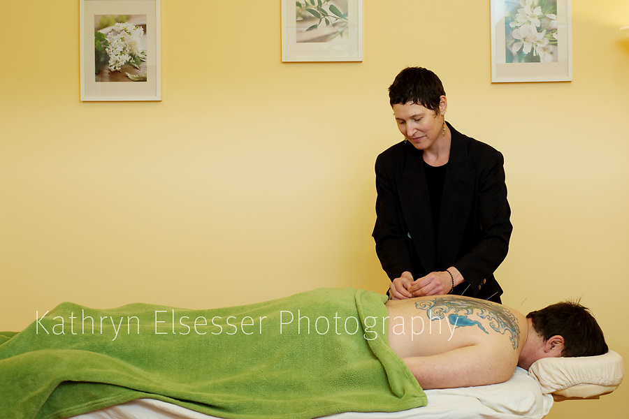 Business Portrait of Mia Neuse of the Montavilla Community Accupuncture