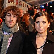 NLD/Amsterdam/20101114 - Premiere kinderfilm Dik Trom, Nyncke Beekhuyzen en partner