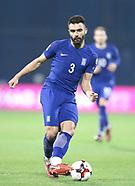 Croatia Greece Qualifier Play-off Zagreb
