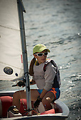 Coral Reef Yacht Club - CRYC - Spring Fling - Saturday Optis on the water