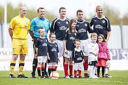 Mascots..Falkirk's Football Club's last game of season 2011-2012..Falkirk 3 v 2 Ayr United, 5/5/2012..©Michael Schofield..