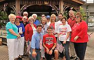 Historical Society of the Merricks board members, Legislator Dave Denenberg, and fellow Merokians on July 4th at Merrick Gazebo for the Historical Society's annual reading of the Declaration of Independence, including Claudia Borecky, Joe Baker, Neil Yeoman, Jerry Medowar,  Marion Fraker-Gutin, Adrienne Garfinkel, Larry Garfinkel.