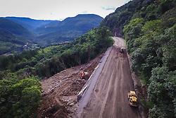 Banco de imagens das rodovias administradas pela EGR - Empresa Gaúcha de Rodovias. Obra em execução na ERS 115, trecho dos km 27- 29. FOTO: Jefferson Bernardes/ Agencia Preview