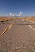 Highway near Shiprock, New Mexico