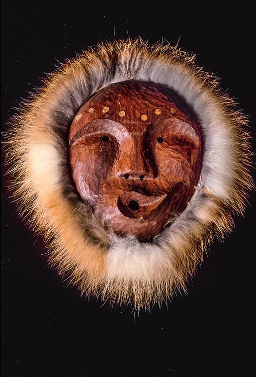 Unknown artist, Inupiat mask, NPS/NANA Museum collection, Kotzebue, Alaska, USA
