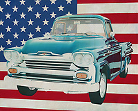The 1959 Chevrolet Apache is also called the American workhorse. There is no company, farm, ranch that does not have a pick up and most of the time these are Chevrolette Apache's. Sturdy, simple in design and easy to maintain. What more should you have as a company car that does its job in any situation.<br />