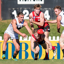 BRISBANE, AUSTRALIA - JULY 1:  during the NEAFL Round 14 match between Redland Bombers and Southport Sharks at Tidbold Park on July 1, 2017 in Brisbane, Australia. (Photo by Patrick Kearney/Patrick Leigh Perspectives)