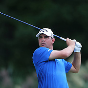 Gary Woodland, USA,  in action during the fourth round of theThe Barclays Golf Tournament at The Ridgewood Country Club, Paramus, New Jersey, USA. 24th August 2014. Photo Tim Clayton