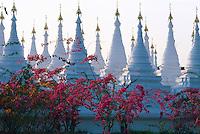 Myanmar (ex Birmanie), Mandalay, Paya Sandamani // Myanmar (Burma), Mandalay, Paya Sandamani.