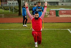 Igor Vekić of Bravo during first practice session of NK Bravo before the spring season of Prva liga Telekom Slovenije 2020/21, on January 5, 2021 in Sports park ZAK, Ljubljana Slovenia. Photo by Vid Ponikvar / Sportida