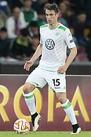 Christian Trasch Wolfsburg, <br /> Napoli 23-04-2015 Stadio San Paolo <br /> Football Calcio UEFA Europa League Quarter-finals, second len. Napoli - Wolfsburg.<br /> Foto Cesare Purini / Insidefoto