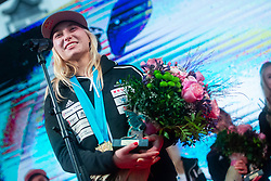Janja Garnbret three time world champion during PZS reception after IFSC Climbing World Championships in Hachioji (JPN) 2019, on August 23, 2019 at Ministry of Education, Science and Sport, Ljubljana, Slovenia. Photo by Grega Valancic / Sportida