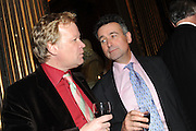 CHRISTOPHER SILVESTER; BERNARD JENKINS, Celebration of the  200TH Anniversary of the  Birth of Rt.Hon. John Bright MP  and the publication of <br /> ÔJohn Bright: Statesman, Orator, AgitatorÕ by Bill Cash MP. Reform Club. London. 14 November 2011. <br /> <br />  , -DO NOT ARCHIVE-© Copyright Photograph by Dafydd Jones. 248 Clapham Rd. London SW9 0PZ. Tel 0207 820 0771. www.dafjones.com.<br /> CHRISTOPHER SILVESTER; BERNARD JENKINS, Celebration of the  200TH Anniversary of the  Birth of Rt.Hon. John Bright MP  and the publication of <br /> 'John Bright: Statesman, Orator, Agitator' by Bill Cash MP. Reform Club. London. 14 November 2011. <br /> <br />  , -DO NOT ARCHIVE-© Copyright Photograph by Dafydd Jones. 248 Clapham Rd. London SW9 0PZ. Tel 0207 820 0771. www.dafjones.com.