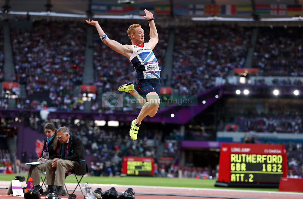 File photo dated 04-08-2012 of Great Britain's Greg Rutherford on in action during the Men's Long Jump
