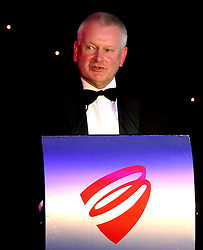 Bristol Sport Founder Steve Lansdown introduces proceedings at Bristol Sport's Annual Gala Dinner at Ashton Gate Stadium - Mandatory by-line: Robbie Stephenson/JMP - 08/12/2016 - SPORT - Ashton Gate - Bristol, England  - Bristol Sport Gala Dinner