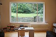 The downstair sitting room at Warren House, Wayne McGregor's Dartington Estate home in Devon<br /> Vanessa Berberian for The Wall Street Journal
