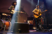 Photos of The Avett Brothers performing live at Madison Square Garden, NYC on April 8, 2016. © Matthew Eisman/ Getty Images. All Rights Reserved