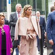 LUX/Luxemburg/20180523 - Staatsbezoek Luxemburg dag 2, Groothertogin Maria Teresa, Koning Willem Alexander, Koningin Maxima