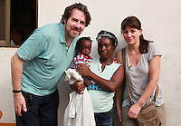 Today marks the 25th anniversary of Red Nose Day and Jonathan Ross and Davina McCall are visiting Mamprobi vaccine clinic in Accra, Ghana to see how cash raised by the British public is changing lives. They met Joanna and her baby, David who has been vaccinated today against measles and yellow fever. Since it started in 1988 Red Nose Day has raised over £600 million and over the last 25 years that money will have helped 50 million people across Africa, the world's poorest countries and here in the UK. The money raised will have helped provide 1 million vaccines across Africa. Keep up the good work. rednoseday.com ©Christian Thompson