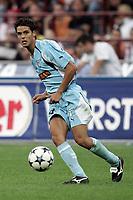 Milano 21/8/2004 Supercoppa Italiana - Italian Supercup Milan Lazio 3-0 Hernandez Oscar Lopez Lazio <br /> <br /> Foto Andrea Staccioli Graffiti