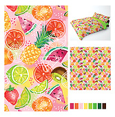 Bedding and textile designs