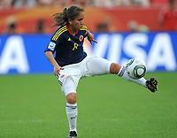 Fotball<br /> VM kvinner 2011 Tyskland<br /> 28.06.2011<br /> Sverige v Colombia<br /> Foto: Witters/Digitalsport<br /> NORWAY ONLY<br /> <br /> Andrea Peralta (Kolumbien)<br /> Frauenfussball WM 2011 in Deutschland, Kolumbien - Schweden 0:1
