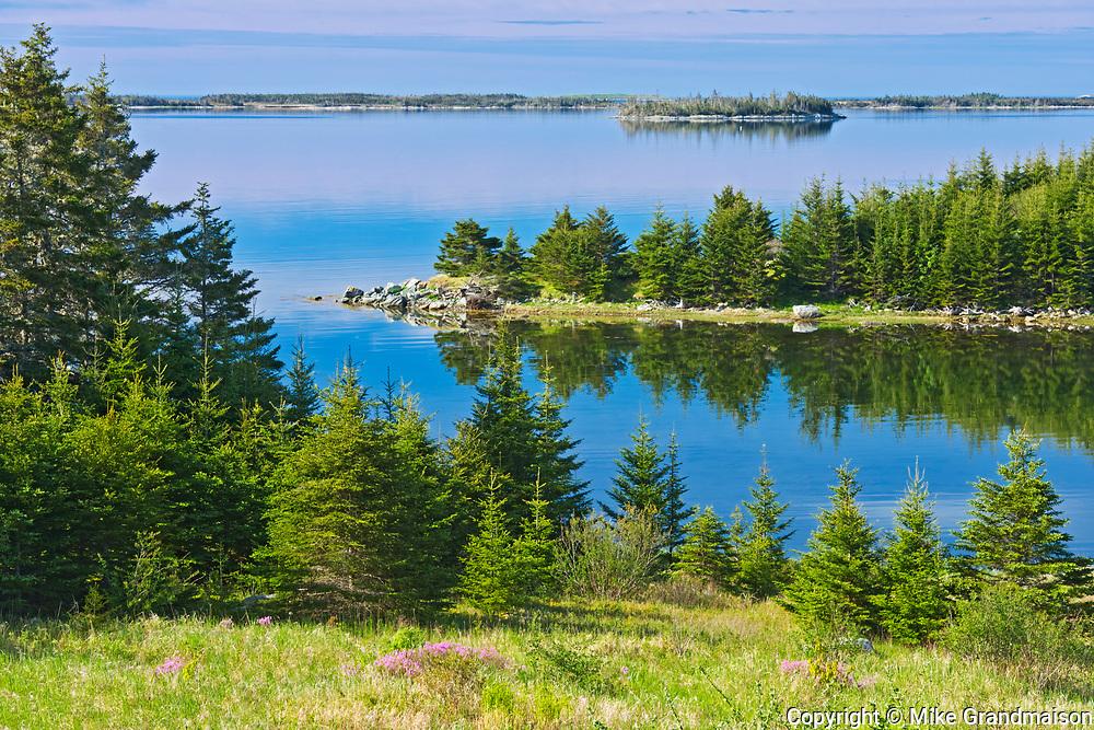 Entrance to Atlantic Ocean, Marie Joseph, Nova Scotia, Canada