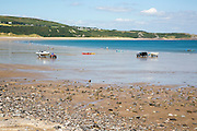 Oxwich beach, Gower peninsula, near Swansea, South Wales, UK