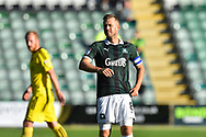 David Fox (8) of Plymouth Argyle during the EFL Sky Bet League 1 match between Plymouth Argyle and Burton Albion at Home Park, Plymouth, England on 20 October 2018.