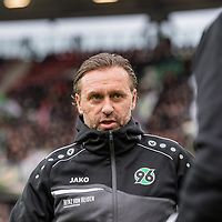 09.02.2019, HDI Arena, Hannover, GER, 1.FBL, Hannover 96 vs 1. FC Nuernberg<br /> <br /> DFL REGULATIONS PROHIBIT ANY USE OF PHOTOGRAPHS AS IMAGE SEQUENCES AND/OR QUASI-VIDEO.<br /> <br /> im Bild / picture shows<br /> Thomas Doll (Trainer Hannover 96), <br /> <br /> Foto © nordphoto / Ewert