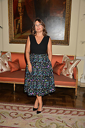 ALEXANDRA SHULMAN at a party to kick off London Fashion Week hosted by US Ambassador Matthew Barzun and Mrs Brooke Brown Barzun with Alexandra Shulman in association with J.Crew hrld at Winfield House, Regent's Park, London on 18th September 2015.