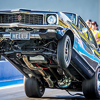 Phil Purser with another huge launch in #HELLJ as part of the #OutlawRadial Shootout at #PerthMotorplex - #DragRacing #PerthisOK #WesternAustralia #FinalDriveEngineering