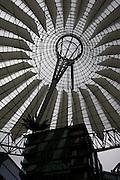 Sony Center in Potsdamer Platz Berlin, Germany.Photo by Bryan Rinnert/3Sight Photography