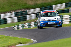 Joseph Loake in action while competing in the BRSCC Fiesta Junior Championship. Picture taken at Cadwell Park on August 1 & 2, 2020 by BRSCC photographer Jonathan Elsey