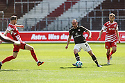 Fussball: 2. Bundesliga, FC St. Pauli - Würzburger Kickers, Hamburg, 17.04.2021<br /> Rico Benatelli (Pauli, M.)<br /> © Torsten Helmke