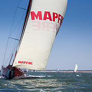 © Maria Muina I MAPFRE. InPort Race in The Hague./ Regata costera en La Haya.