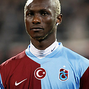 Trabzonspor's Ibrahima YATTARA during their Turkey Cup Group B matchday 5 soccer match Besiktas between Trabzonspor at the Inonu stadium in Istanbul Turkey on Wednesday 26 January 2011. Photo by TURKPIX