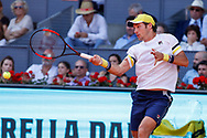 Dusan Lajovic of Serbia during the Mutua Madrid Open 2018, tennis match on May 10, 2018 played at Caja Magica in Madrid, Spain - Photo Oscar J Barroso / SpainProSportsImages / DPPI / ProSportsImages / DPPI