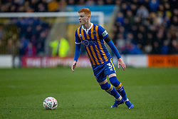 January 26, 2019 - Shrewsbury, England, United Kingdom - Ryan Haynes of Shrewsbury Town during the FA Cup 4th round match between Shrewsbury Town and Wolverhampton Wanderers at Montgomery Waters Meadow, Shrewsbury on Saturday 26th January 2019. (Credit Image: © Mark Fletcher/NurPhoto via ZUMA Press)
