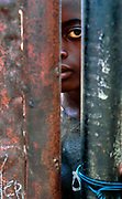 Young Zambian boy in an orphanage during the AIDS epidemic, Kitwe, Zambia .  2000<br /> © Jeremy Horner @Panos Pictures<br /> #onassignment #UNICEF #corrieredellasera #iodonna #portrait