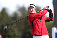15 April 2016: NC State's Rachael Taylor. The First Round of the Atlantic Coast Conference's Womens Golf Tournament was held at Sedgefield Country Club in Greensboro, North Carolina.